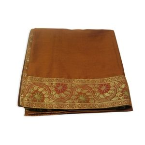 Brown coloured Table cloth - Silk.#mothersdaysale