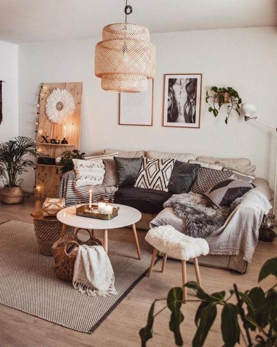 Inspiração principal: At   – Wohnzimmer für die ganze Familie