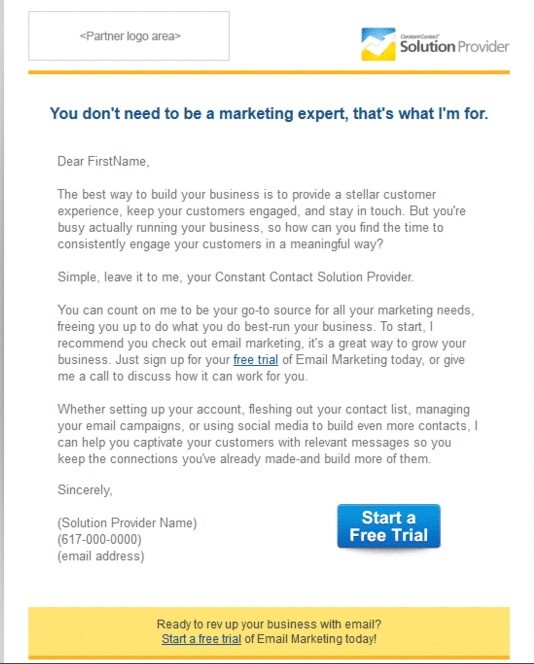 16 best Solution Provider Email Templates images on Pinterest - business contact list template