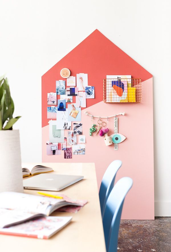 17 Ways to Organize Your Life for the New Year: DIY Giant Mood Board Organizer