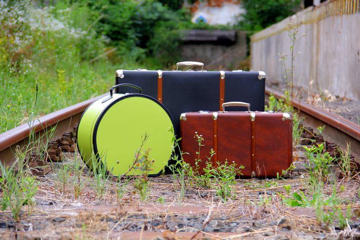 Cestujte stylově, třeba vlakem.. Travel with #Kazeto #suitcases by train...