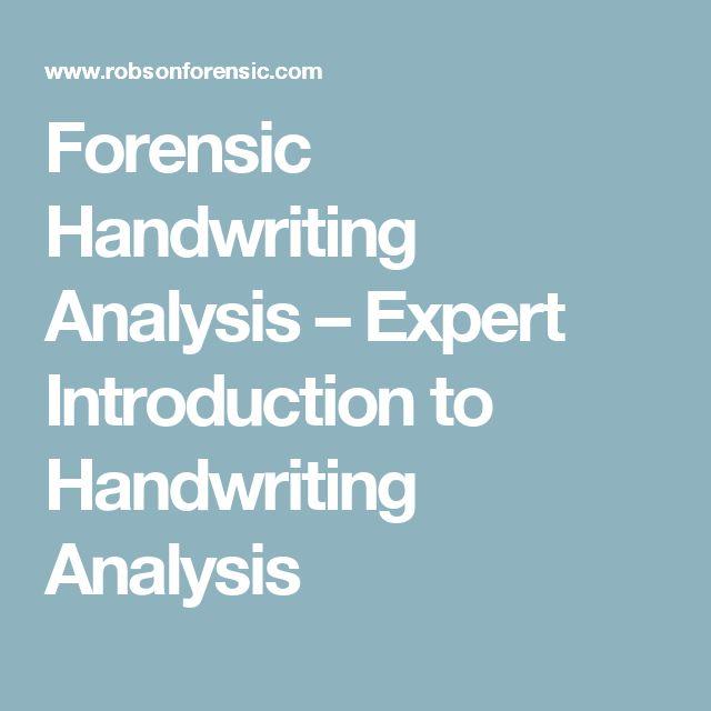 Handwriting Experts.com