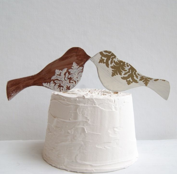 Love Birds – Oh So Sweet Cake Toppers