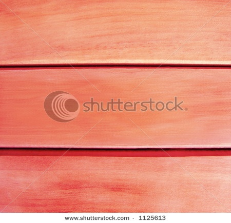 wooden walls painted coral