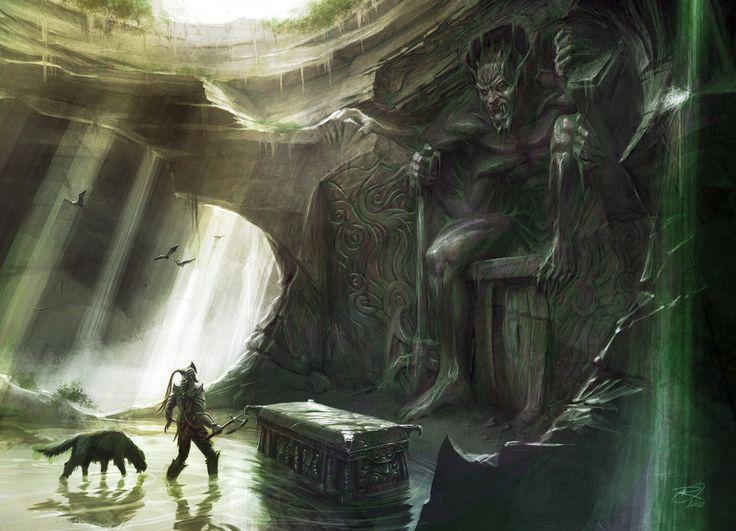 The Elder Scrolls V : Skyrim, Shrine of Mehrunes Dagon concept art