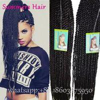 Pre Braided Hair Extensions Sensationnel Crochet Braids 22inch SyntheticTwist…