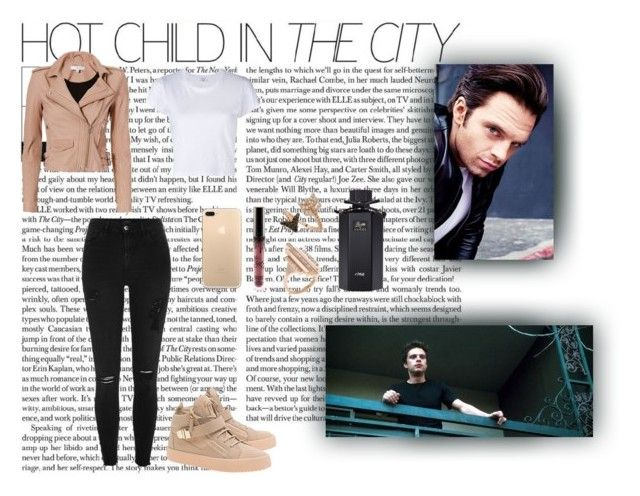 Hot Child In The City by xo-nataliiee-xo on Polyvore featuring polyvore, moda, style, RE/DONE, IRO, River Island, Giuseppe Zanotti, Carbon & Hyde, Bee Goddess, Gucci, Sebastian Professional, fashion and clothing