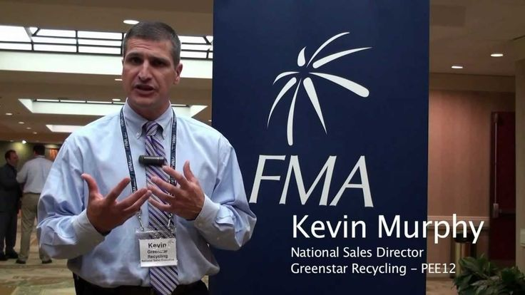 """""""We are the leading recyclers in America- the largest privately held recycler...We have been coming to FMA [Congresses] for about a year and a half now- I think this is our 6th show and each and every time we get quality prospects and leads that we can follow up on and the information that we receive from the speakers is wonderful- and we're able to make some great connections.""""  KEVIN MURPHY National Sales Director GREENSTAR RECYCLING http://www.greenstarrecycling.com/"""