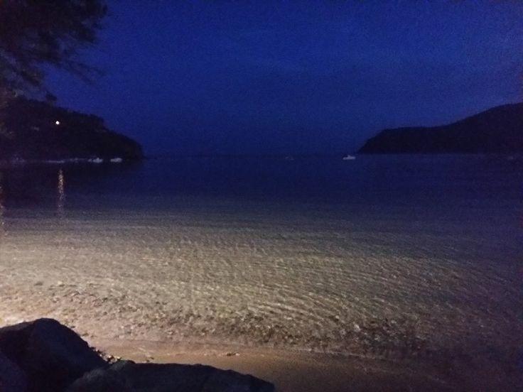 Lacona di sera...cena in riva al mare