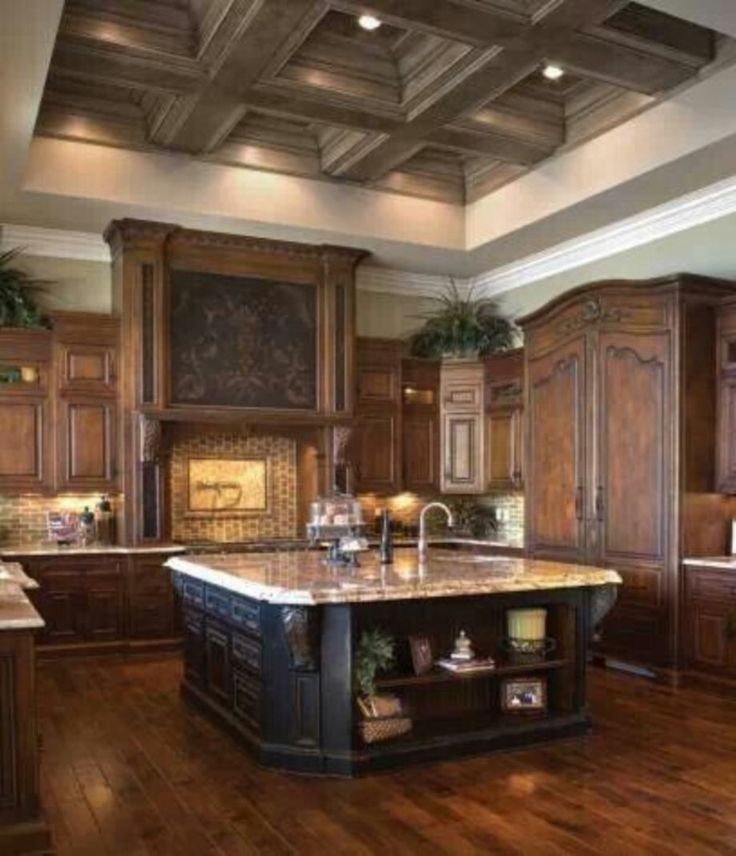 Best 25 dark wood kitchens ideas on pinterest beautiful for Cream and dark wood kitchens
