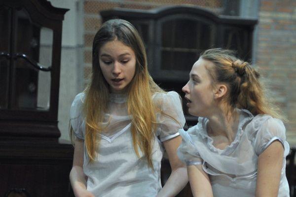 Córki Dulskich – Mela i Hesia, czyli Zofia Wichłacz i Jaśmina Polak (fot. Jan Bogacz)