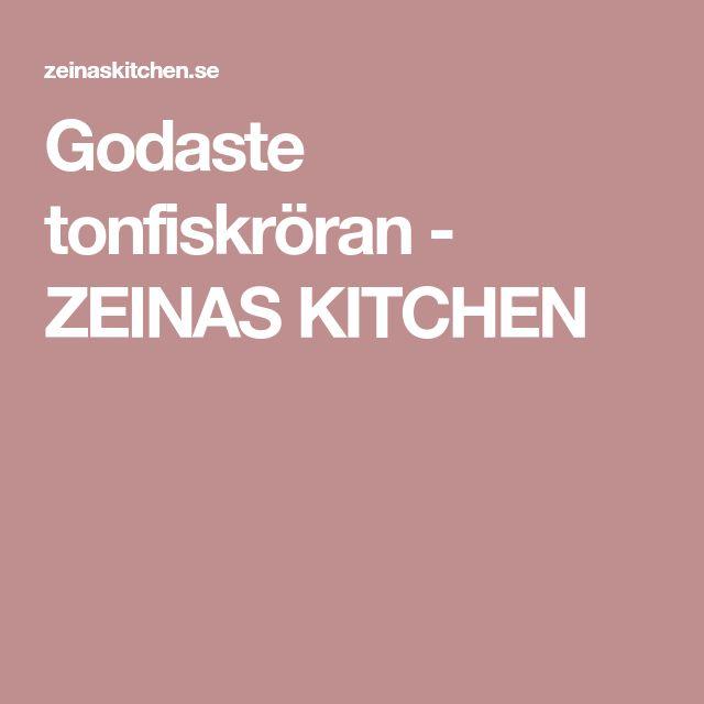 Godaste tonfiskröran - ZEINAS KITCHEN