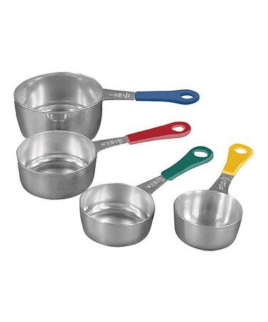 Love this Stainless Steel Measuring Cup Set on #zulily! #zulilyfinds