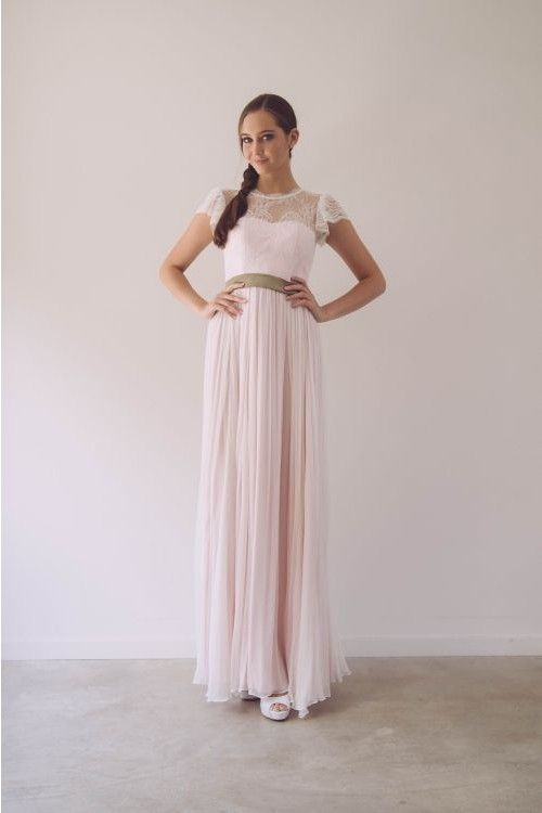 Beachy Peachy Bridal Gown by When Freddie met Lilly