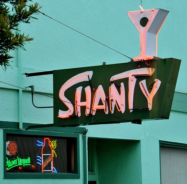 Where I live: My favorite Eureka, California bar is The Shanty