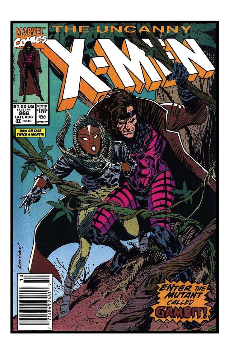 Marvel comics stan lee x men 266 1st app gambit unsigned 11x17 comic cover photograph by - Marvel comics decor ...