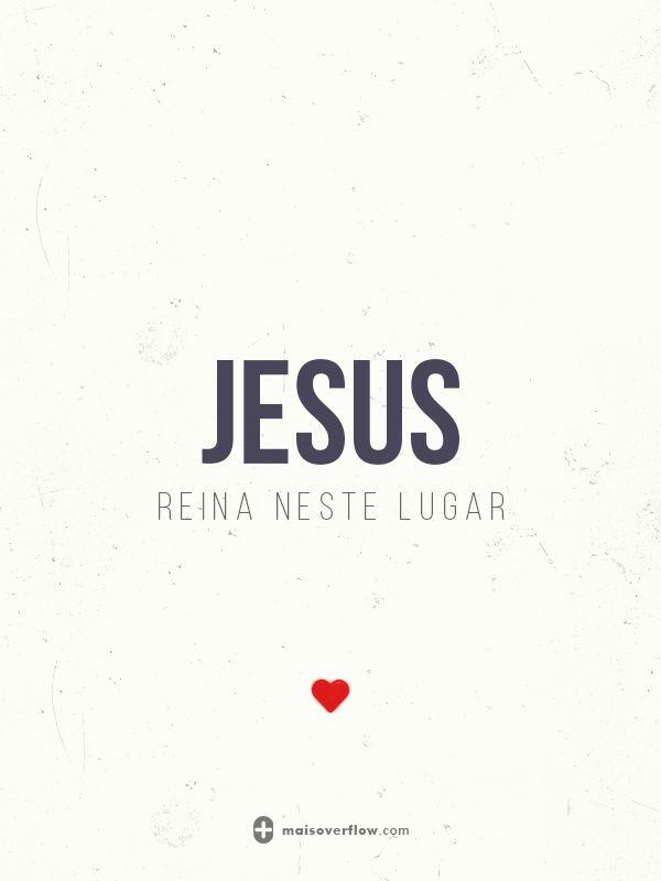Jesus reina neste lugar. ♥ twitter: https://twitter.com/maisoverflow facebook: https://www.facebook.com/maisoverflow instagram: http://instagram.com/maisoverflow X