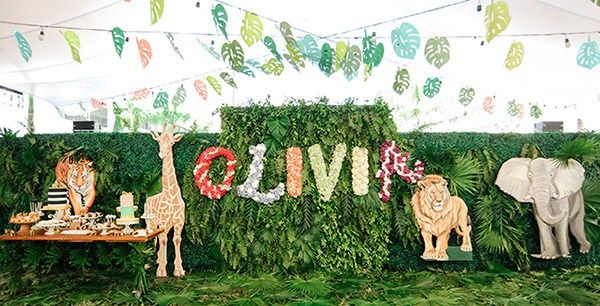 Olivia Reyes Safari | Philippines Children's Party Blog