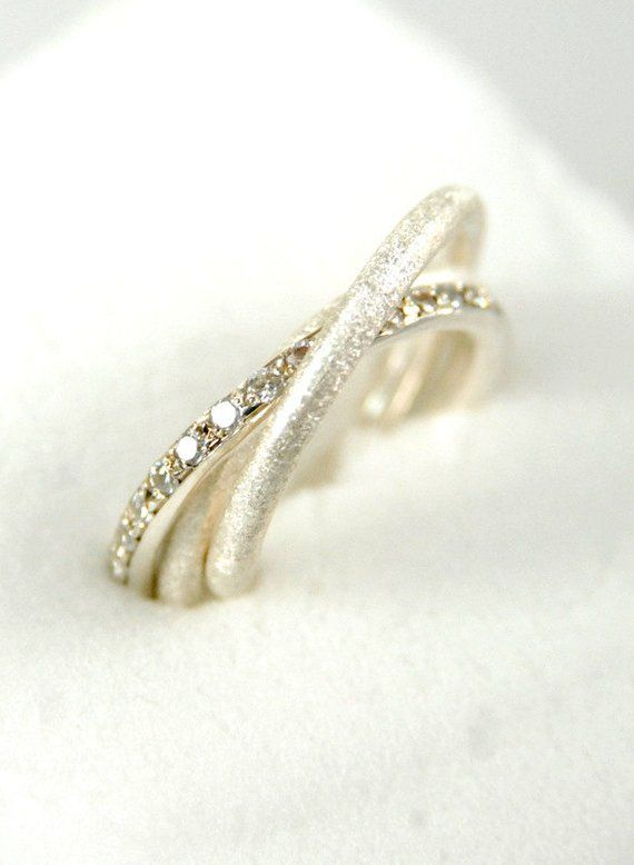 ca69ad8b5 Russian Wedding Ring. Engagement Ring. Sterling Silver Handmade Triple Band  Ring with