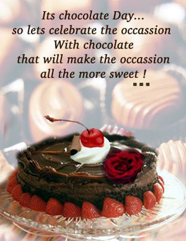 Chocolate Day Images, Pictures