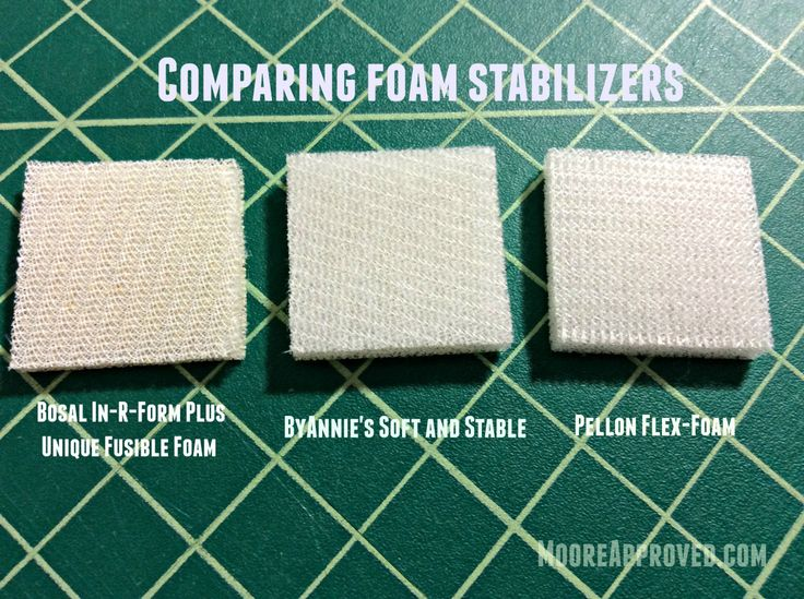 Best images about interfacing stabilizer foam