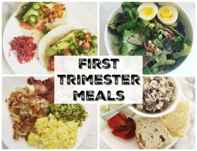 Can eating bacon and eggs be a healthy pregnancy breakfast? Yes! Find out some of my favorite first trimester meals!