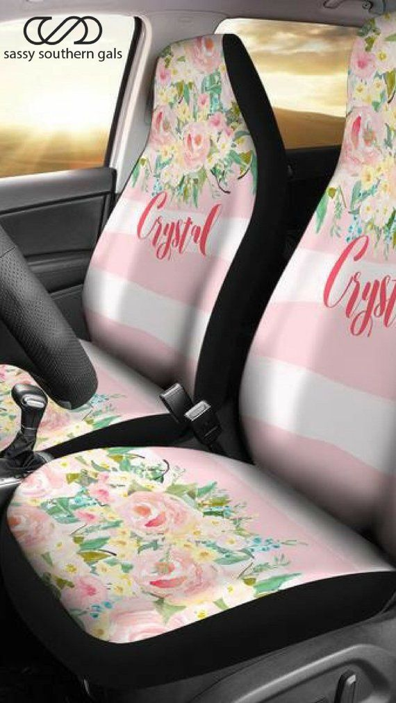 Monogram Seat Covers For Car Vehicle