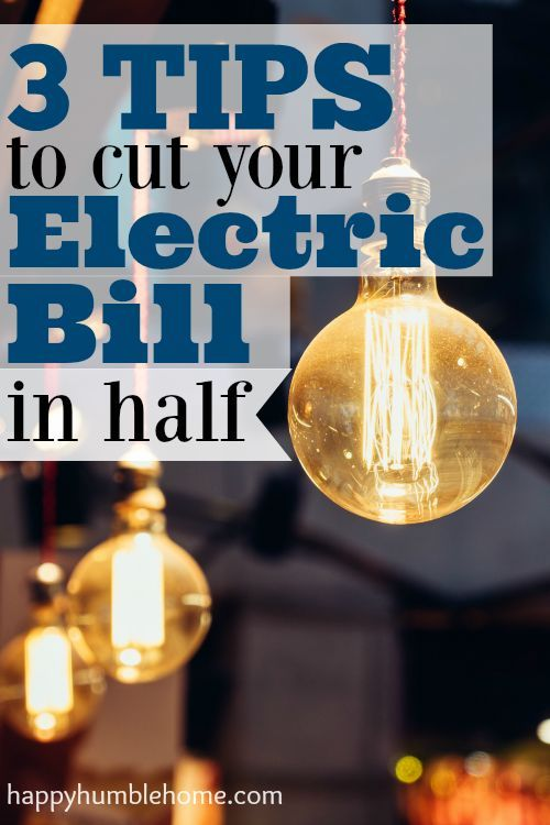 3 Tips to Cut Your Electric Bill in Half! I tried these…