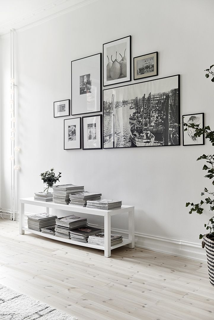 Gallery wall // http://ow.ly/WZVN8