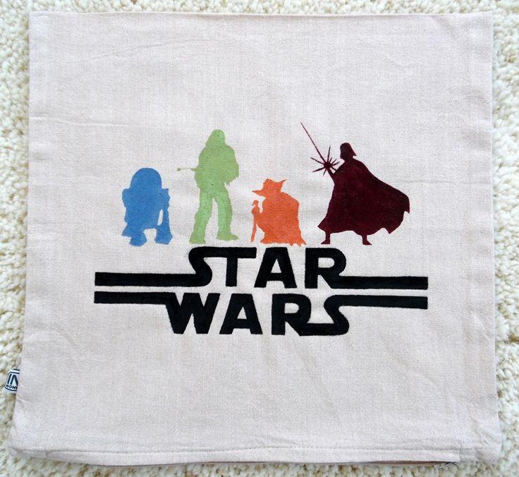 Párnahuzat Star wars! Pillowcase Diy Star Wars!