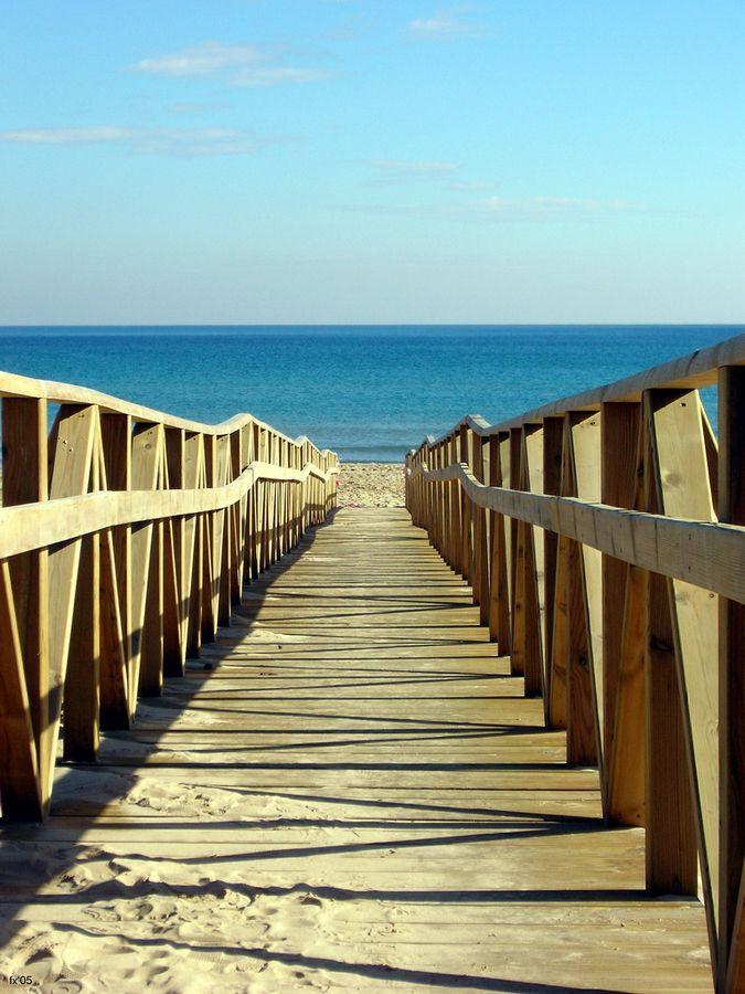Caminito de la playa. Guardamar