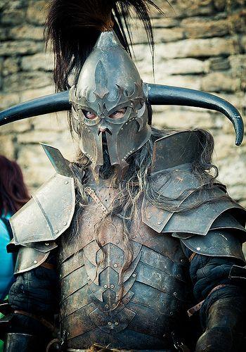 Warrior. medieval tournament