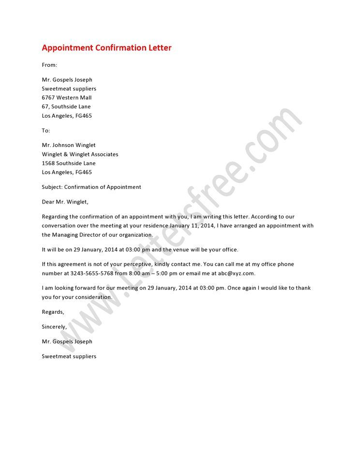 8 best images about appointment letters on Bu Tarz Benim