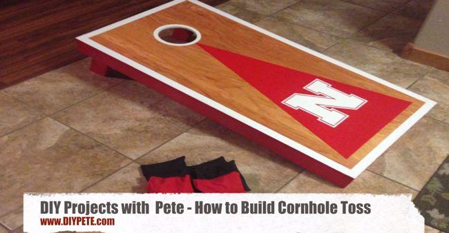 How to build a Cornhole Toss Game Set - Cornhole Board Plans - COMPLETE VIDEO TUTORIAL!