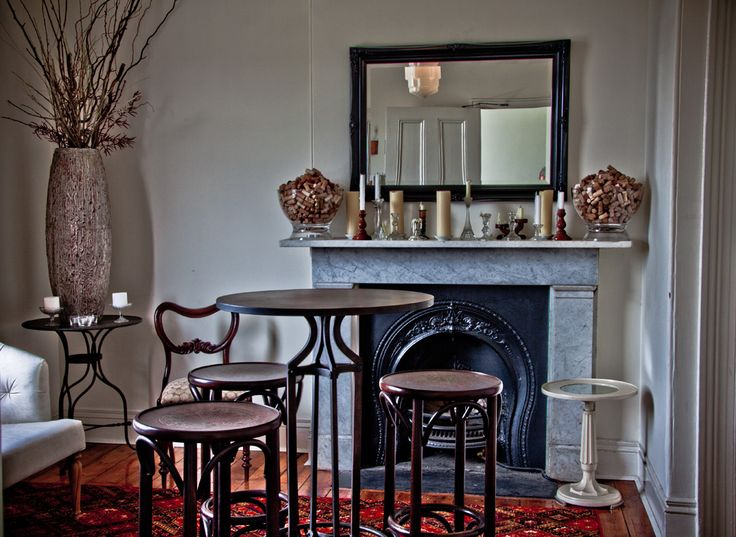An exclusive entrance to an intimate dining experience at The Carlton Wine Room