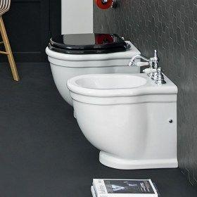 Sanitari bagno a terra Serie Hermitage Filomuro Art Ceram