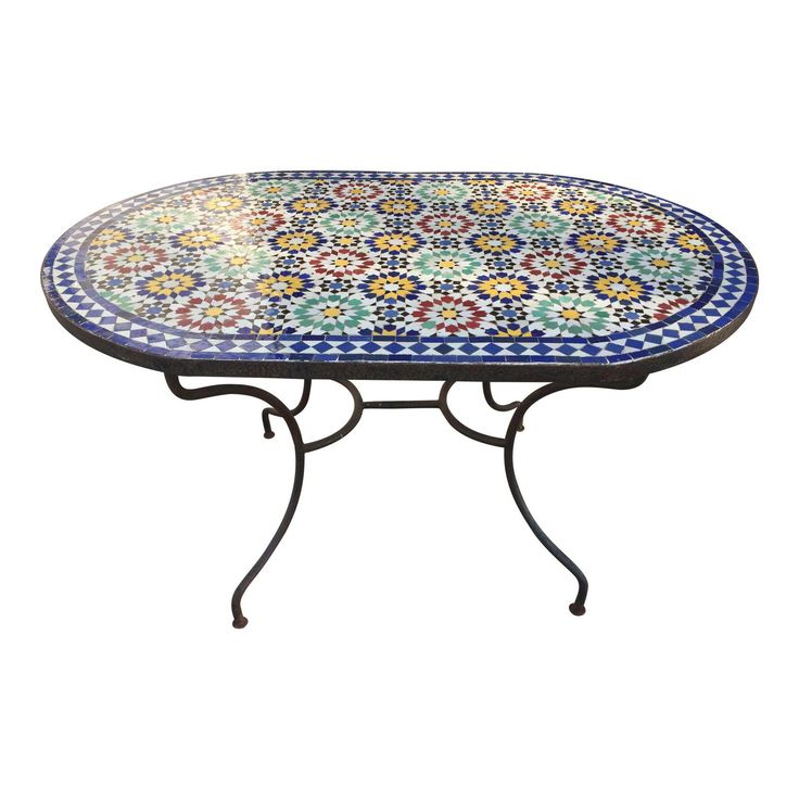 Image of Mosaic Table