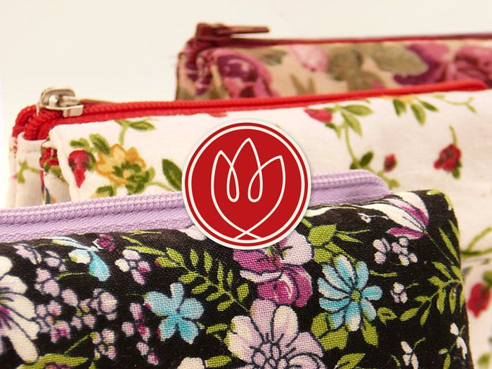Tulip logo and products.