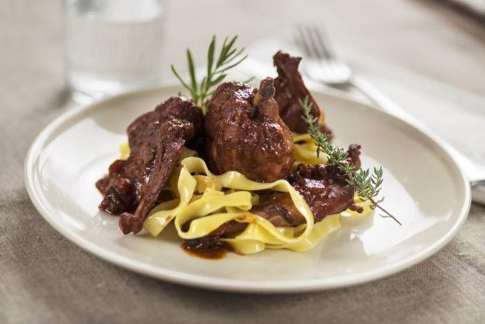 Pappardelle al sugo di lepre #Star #ricette #pappardelle #sugo #lepre #food #recipes