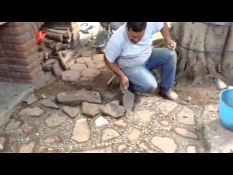 constru luis: piso de laja
