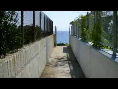70 seconds to Aegean! Salonikiou Beach Deluxe Apartments - YouTube