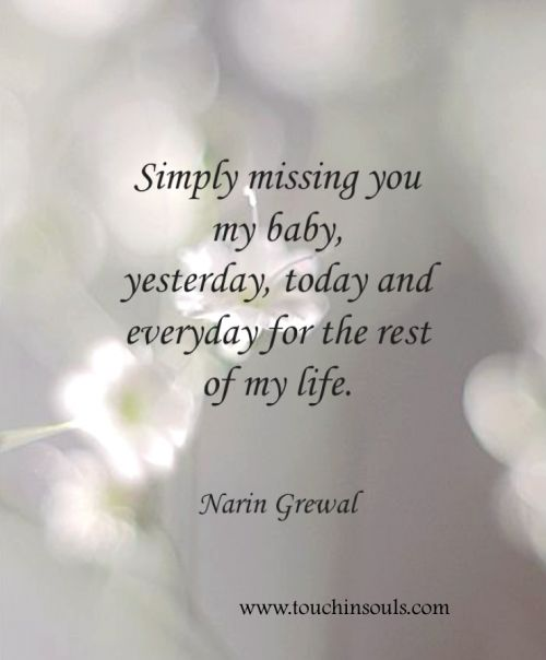 Simply missing you ...
