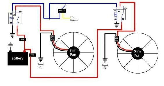diy fan relay for you car chat cars cars motorcycles automobile rh pinterest co uk