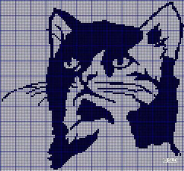 Filet Crochet Cat Patterns Patterns Kid