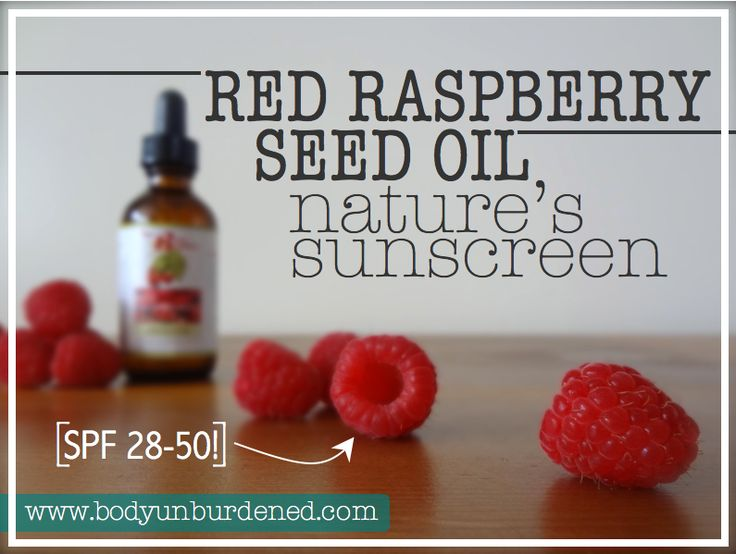 Red raspberry seed oil: Nature's sunscreen - Move it on over, hemp and chia. There's a new seed on the block: red raspberry seed.