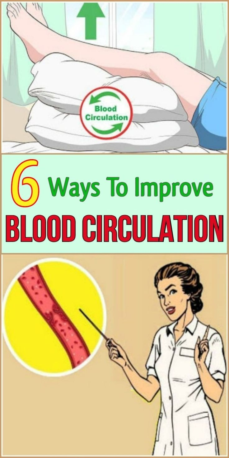 Six Ways To Improve Blood Circulation Improve blood