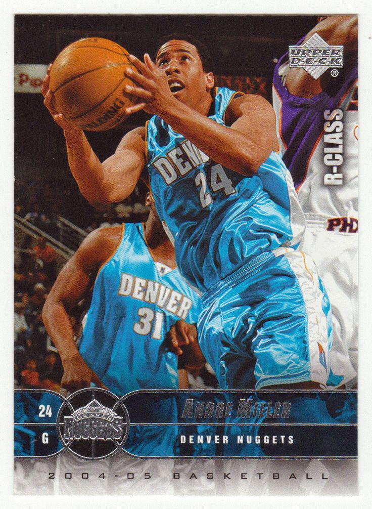 Andre Miller # 19 - 2004-05 Upper Deck R-Class Basketball