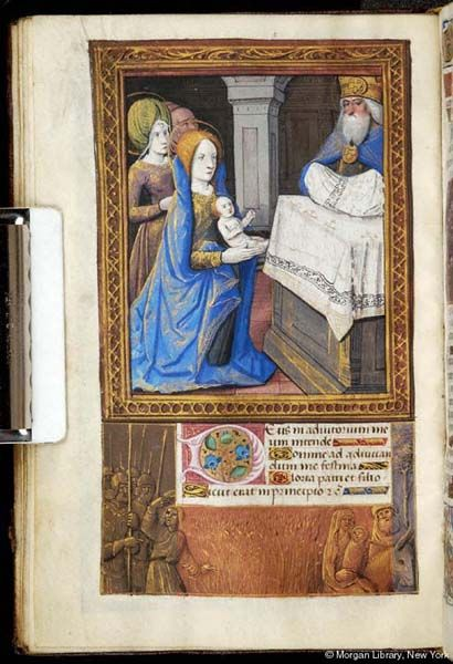 Christ: Presentation   Book of Hours   France, perhaps Tours   ca. 1500   The Morgan Library & Museum