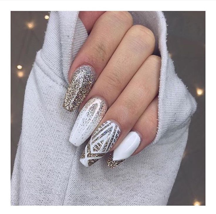 Ice queen nails ❄️