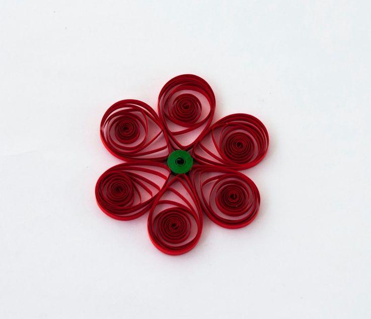 Σήμερα σας προτείνουμε λουλούδια! Διαλέξτε χρώματα, βάλτε φαντασία και το αποτέλεσμα θα είναι μοναδικό! Happy Quilling!